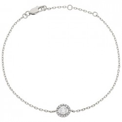 0.15ct 18ct White Gold Fancy Bracelet