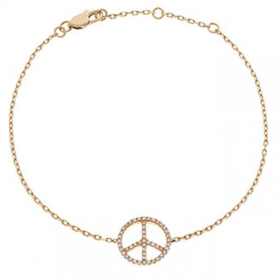0.18ct 18ct Rose Gold Fancy Bracelet