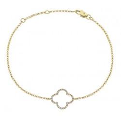 0.15ct 18ct Yellow Gold Fancy Bracelet