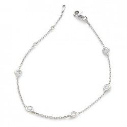 0.12ct 18ct White Gold Fancy Bracelet
