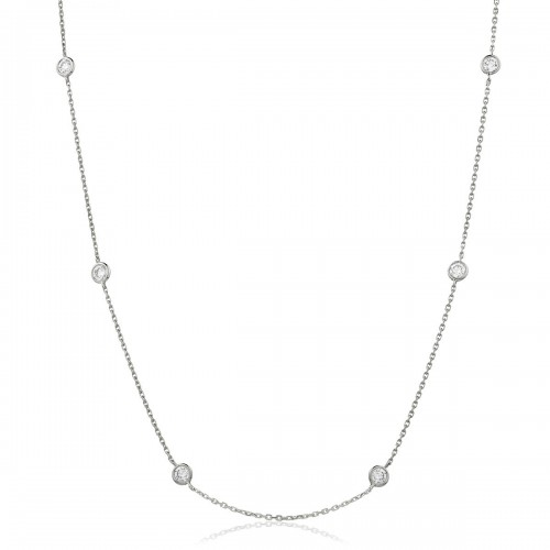 0.25ct 18ct White Gold Tennis Necklace