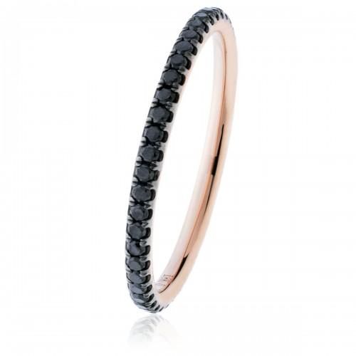 0.35ct 18ct Rose Gold Gemstone Ring