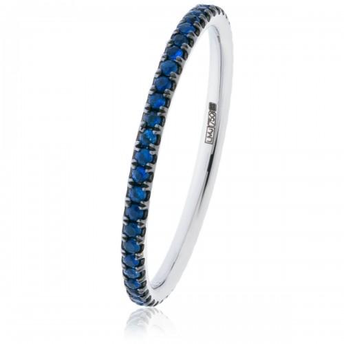 0.30ct 18ct White Gold Gemstone Ring