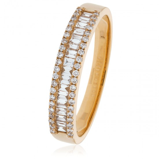 0.33ct 18ct Rose Gold Dress Ring