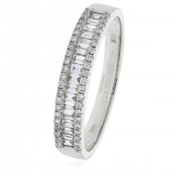 0.33ct 18ct White Gold Dress Ring