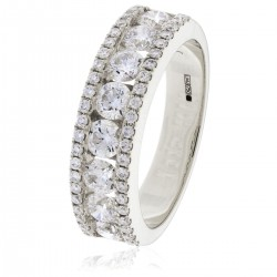 0.37ct Platinum Dress Ring