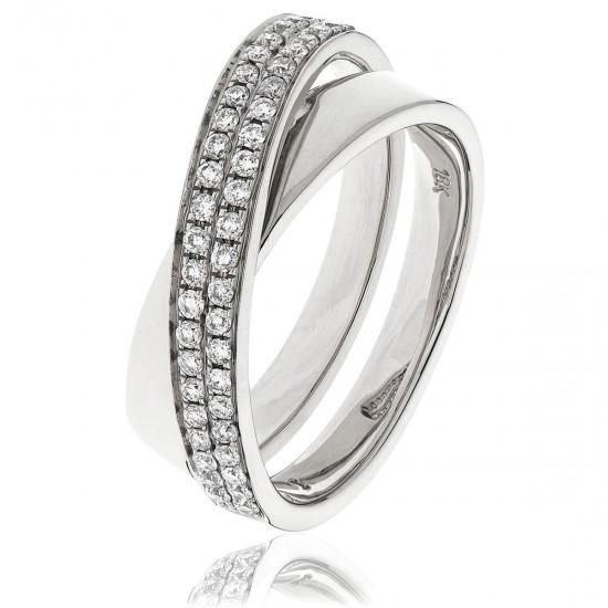 0.30ct Platinum Dress Ring