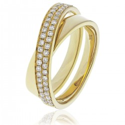 0.30ct 18ct Yellow Gold Dress Ring
