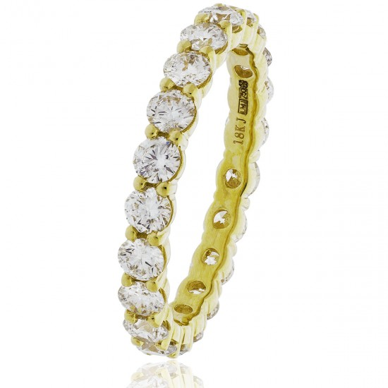 0.50ct 18ct Yellow Gold Full Eternity Ring