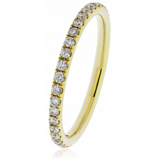 0.40ct 18ct Yellow Gold Full Eternity Ring