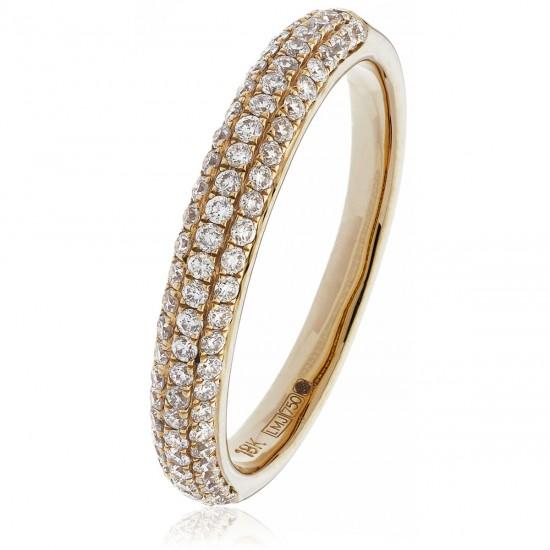 0.40ct 18ct Rose Gold Dress Ring