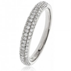 0.40ct 18ct White Gold Dress Ring
