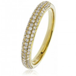 0.40ct 18ct Yellow Gold Dress Ring