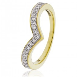 0.10ct 18ct Yellow Gold Cluster Ring