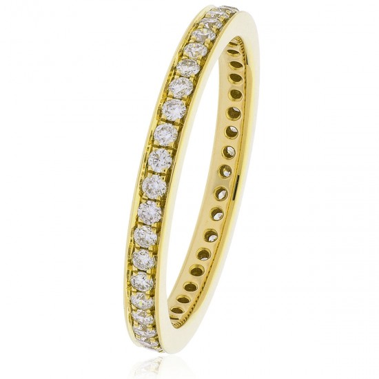0.45ct 18ct Yellow Gold Full Eternity Ring
